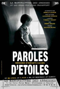 PAROLES D ETOILES Affiche